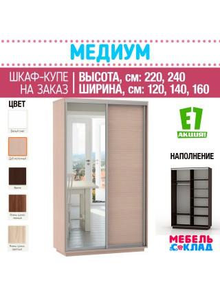 Шкаф-купе ЭЛЕМЕНТ  2-х ств