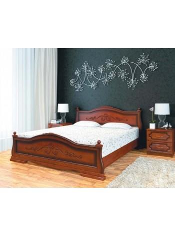 Кровать Карина 1 орех