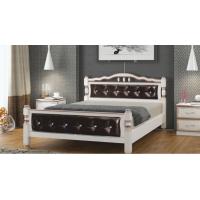 Кровать Карина-11 дуб молочн...