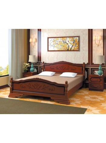 Кровать Карина 3 орех