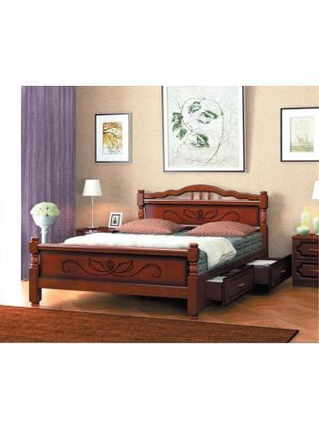 Кровать Карина 5 с ящиками