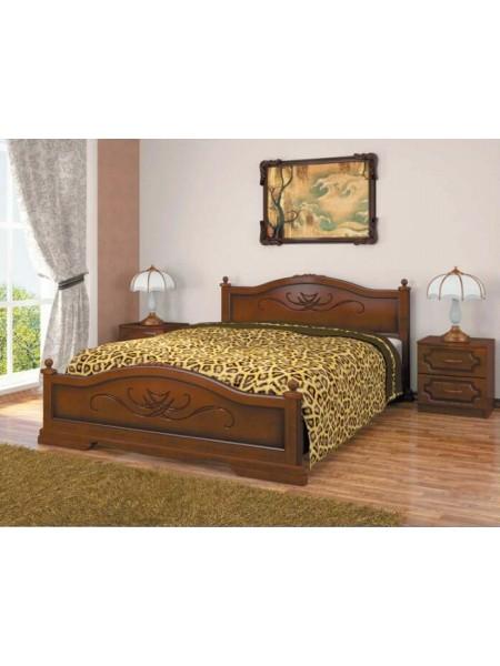 Кровать Карина орех
