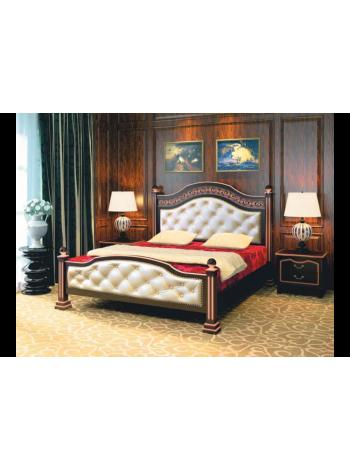 Кровать Клеопатра орех темный