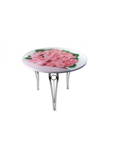 Стол обеденный круглый Силуэт