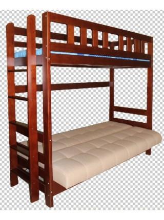 Кровать двухъярусная Фламинго