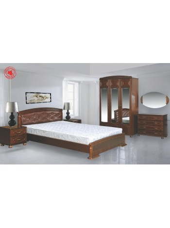 Спальный гарнитур Кристина (массив)