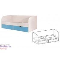 Кровать Симба с ящиками