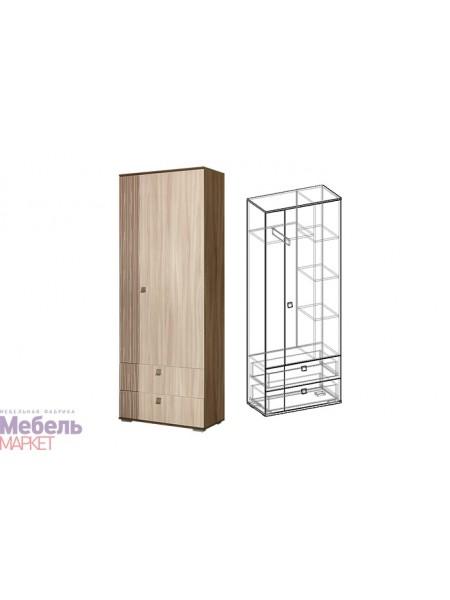 Шкаф двухстворчатый Богемия