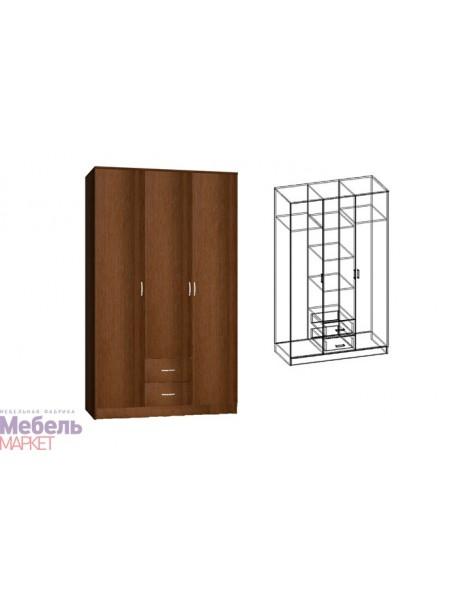 Шкаф трехстворчатый комбинированный Светлана