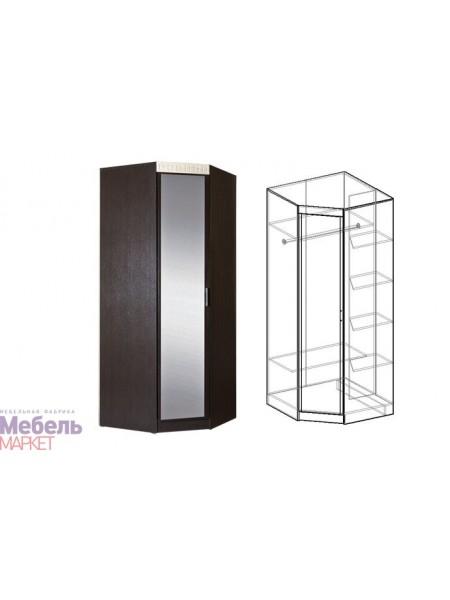 Шкаф угловой с зеркалом Версаль